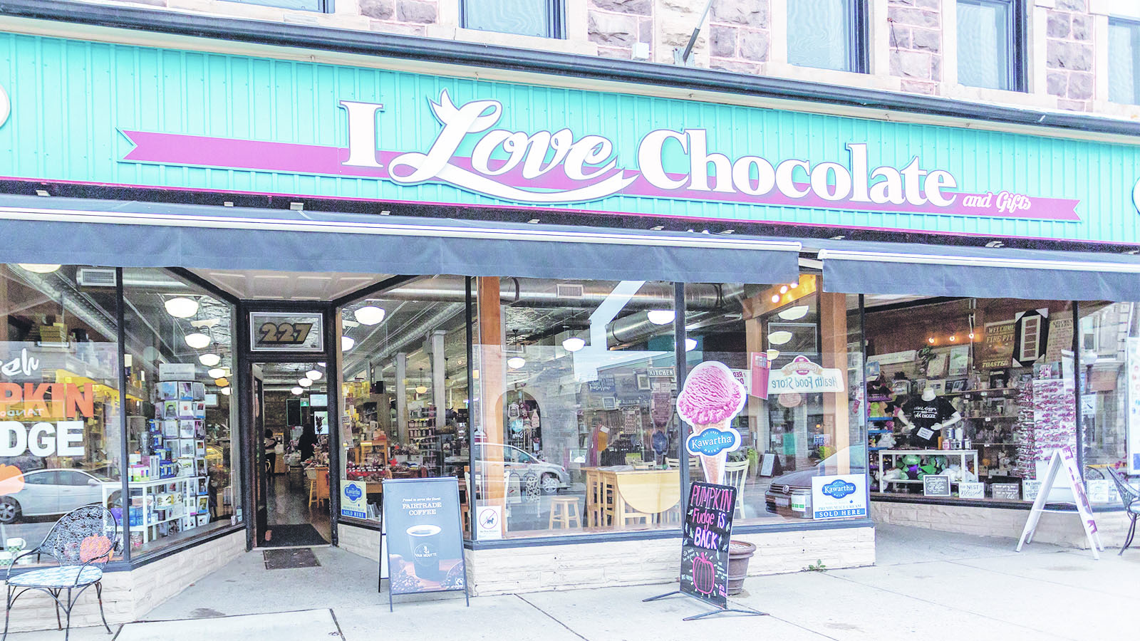 I Love Chocolate! in downtown Fergus