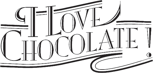I Love Chocolate Logo
