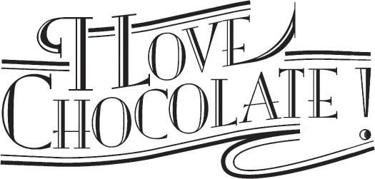 I Love Chocolate Logo